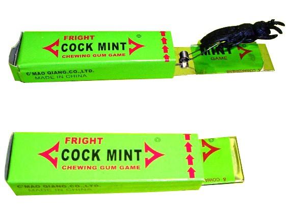 Жвачка с тараканом