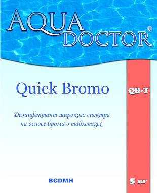 Быстрорастворимый дезинфекант на основе брома AquaDoctor Quick Bromo