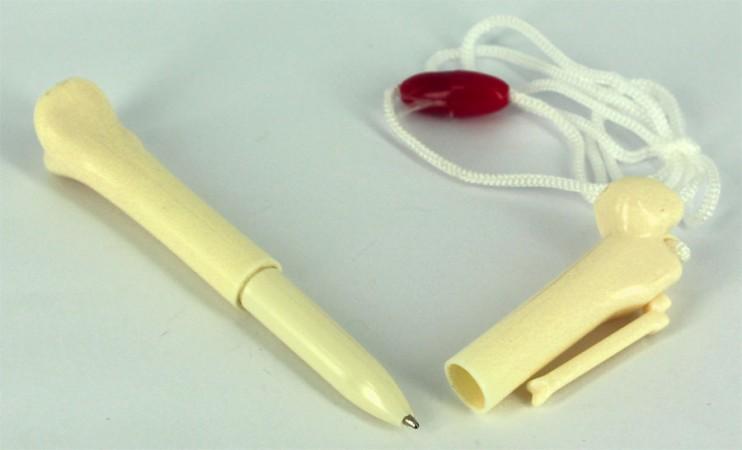 Ручка - кость на шнурке