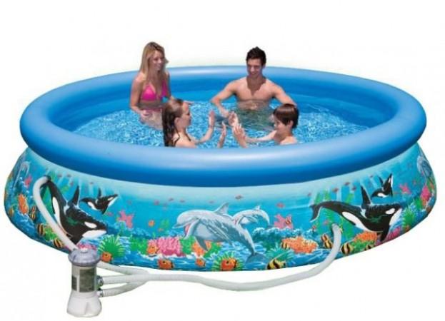 Надувной бассейн Intex Okean Reef Easy set 54906