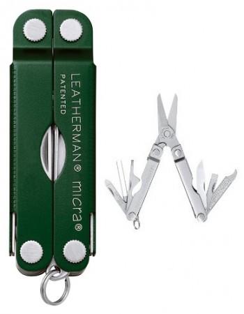 Мультитул Leatherman Micra Green 64350181N