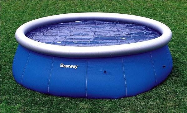 Солярное покрытие на бассейн 58065