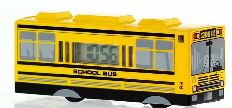 Будильник автобус