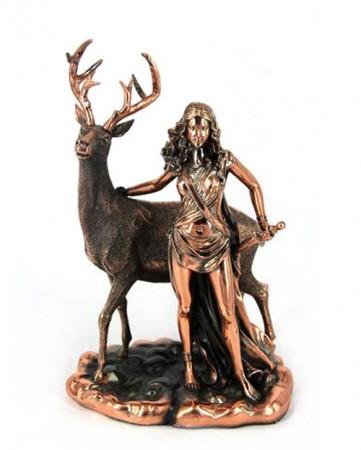 Статуэтка Диана и олень T1016