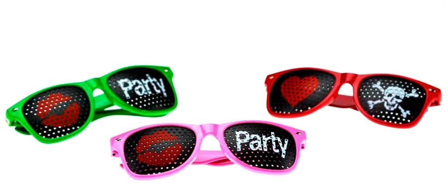 Очки - party kiss me