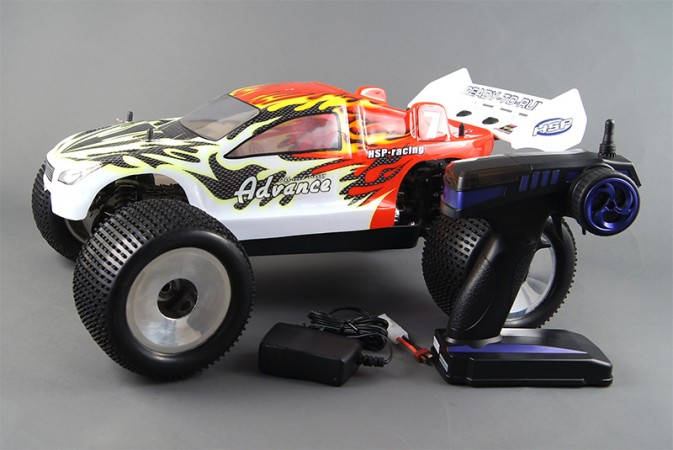 Автомобиль Advance TOP 4WD Brushless Version Electric Powered Off Road Truggy