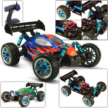 Автомобиль Troian TOP Scale Electric Powered Off Road Buggy