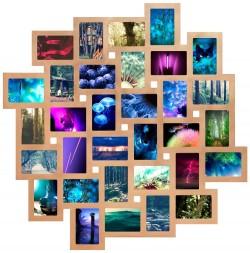 Мультирамка Облако на 32 фотографии