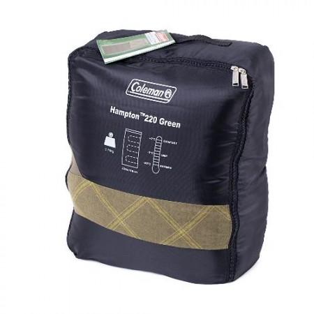 Спальный мешок HAMPTON 220 GREEN SLEEP BAG