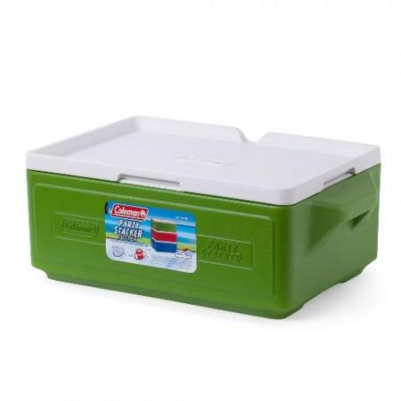 Изотермический контейнер COOLER 24 CAN STACKER GREEN C004