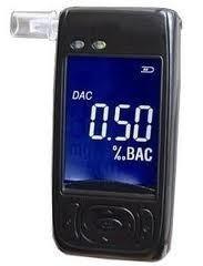 Карманный алкотестер с цифровым дисплеем и мундштуками FiT AAT101-LС