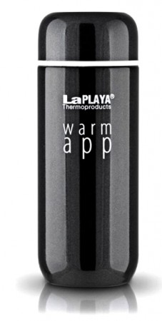 Термокружка Warm App 0,2 черная