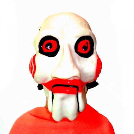Карнавальная маска Пила резиновая
