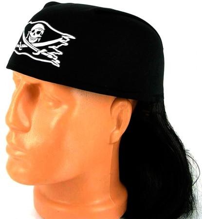 Парик пирата со шляпой
