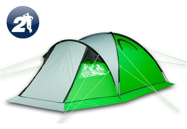Туристическая палатка Maverick IDEAL 200 Aluminium