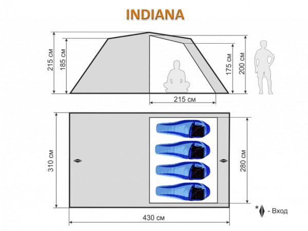 Кемпинговая палатка Maverick INDIANA