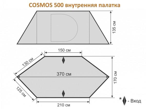 Шатер-тент Maverick COSMOS 500
