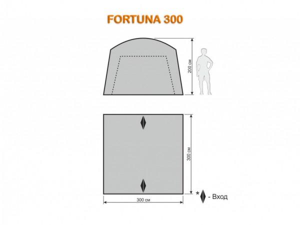 Шатер-тент Maverick FORTUNA 300