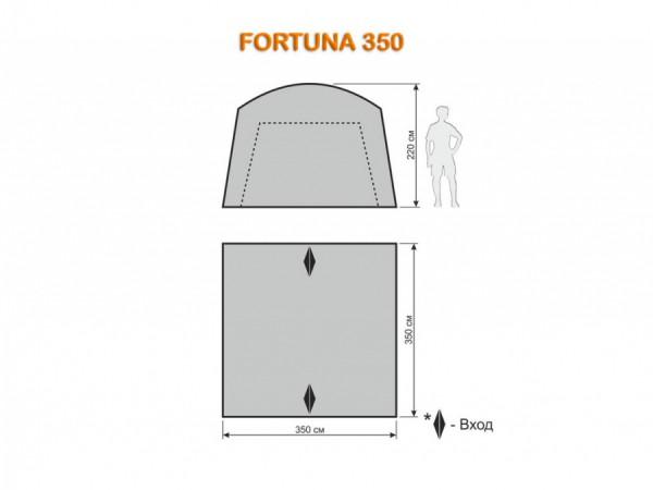 Шатер-тент Maverick FORTUNA 350