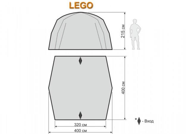 Шатер-тент Maverick LEGO