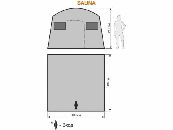 Походная баня Maverick SAUNA