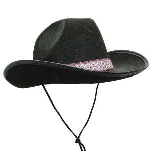 Шляпа Ковбоя фетр с ленточкой