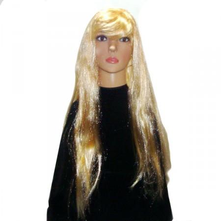 Парик длинные волосы ровные 80 см