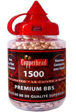 Шарики bb copperhead 1500 шт 0737