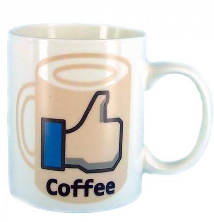 Чашка facebook