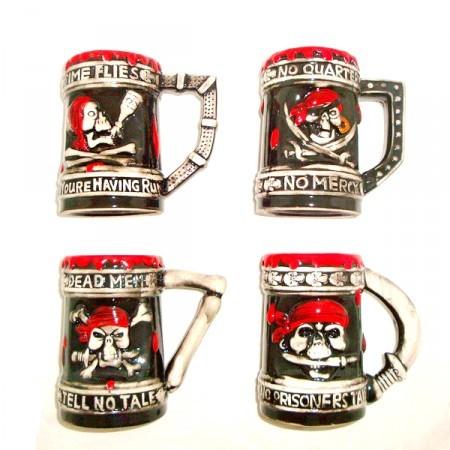 Пивная кружка Пираты