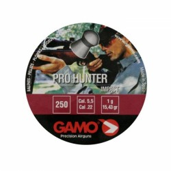 Пульки Pro-Hunter 250 шт.кал.5,5  6321925