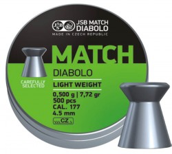 JSB Match Diabolo light  500 шт. кал 4,51  000006-500