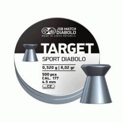 Пульки JSB Diabolo Target Sport 4.5мм 500шт 000045-500