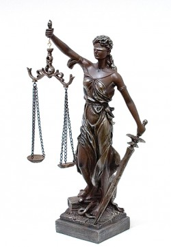 Богиня правосудия 42 см