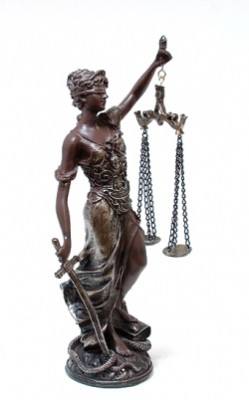 Богиня правосудия 35 см