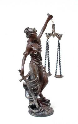 Богиня правосудия 30см
