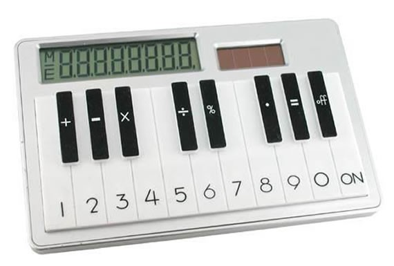 Калькулятор Пианино