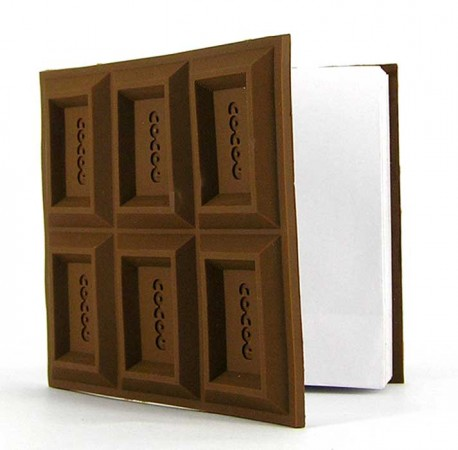 Шоколадка-блокнот