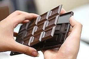 Шоколадка зеркало