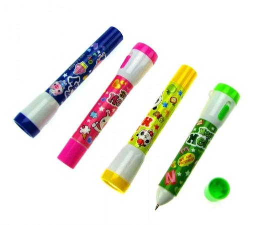Ручка фонарик мультик