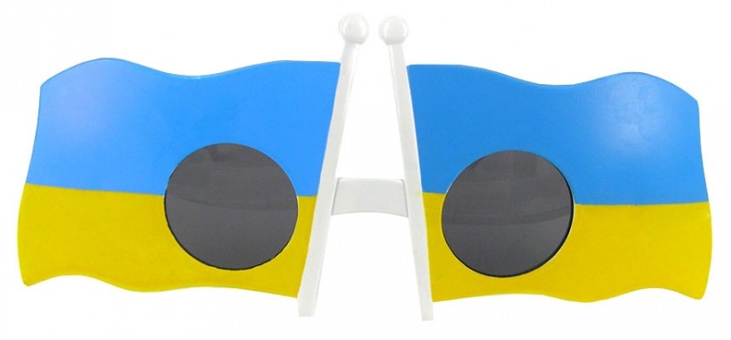 "Очки - party ""Украина"""