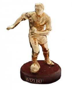 Бронзовая фигура Футболист (Gold)