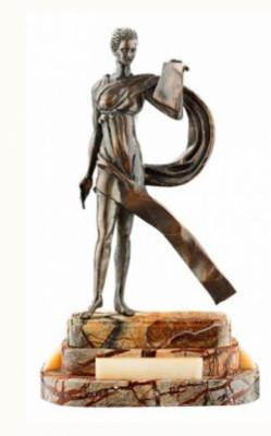 Скульптура из бронзы Каллиопа