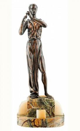 Статуэтка из бронзы Эвтерпа