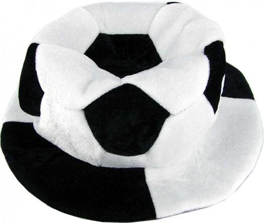 Шапка Футбольный мяч велюр