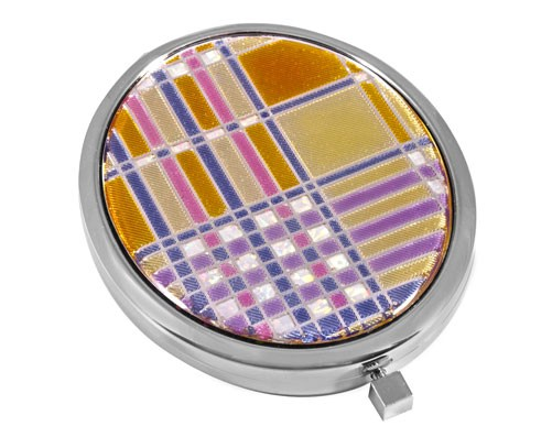 Зеркало косметическое со стразами 98-0531A