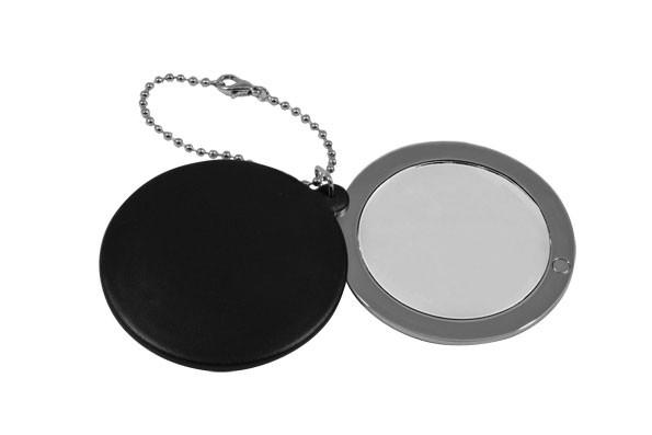 Зеркало косметическое со стразами на цепочке 98-0784