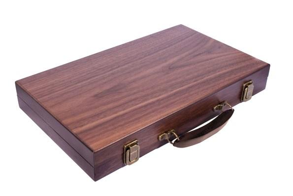Нарды в деревянном кейсе 038B