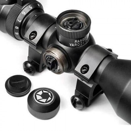 Прицел оптический Barska Contour 3-9x42 (IR Mil-Plex)+ Mounting Rings 920337