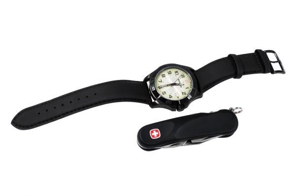 Набор наручные часы Wenger Alpine 70474 и нож Evolution ST 10 814